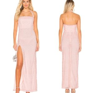 Lovers + Friends Daughter Lace Gown Dress